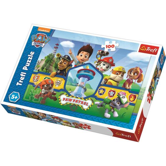 Trefl Paw Patrol Heroes Team 100 Parça Puzzle 16351