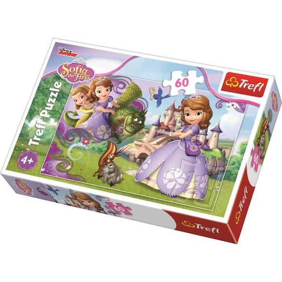 Trefl Princess Sofia Adventures 60 Parça Puzzle 17313
