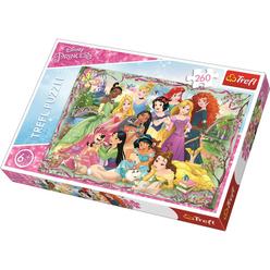 Trefl Princesses Meeting 260 Parça Puzzle 13242 - Thumbnail