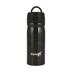 Trendix Çelik İçli Matara 350 ml Siyah U1800-SL - Thumbnail