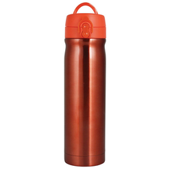 Trendix Çelik İçli Matara 500 ml Neon Turuncu U5000-NT - Thumbnail