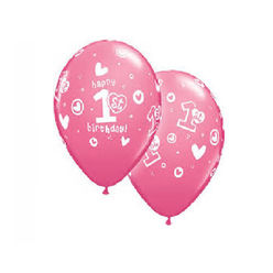 Trio Balon Bir Yaş 10'lu MNB051 - Thumbnail