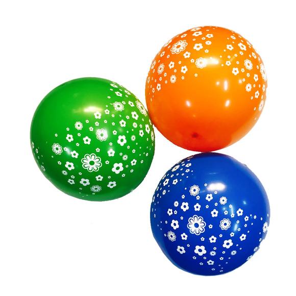 Trio Çiçekli Balon 10'lu MNB016