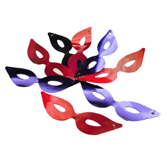 Trio Maske Metalize 6'lı MNS026A