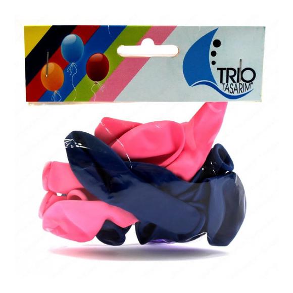 Trio Yıldızlı Balon 8'li MNB010
