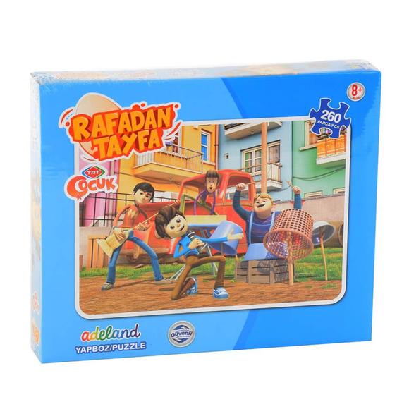 Trt Rafadan Tayfa 260 Parça Puzzle 12645