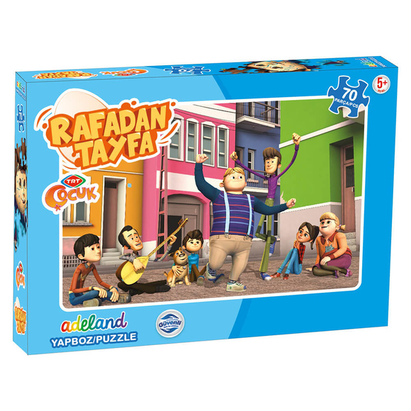 TRT Rafadan Tayfa 70 Parça Puzzle