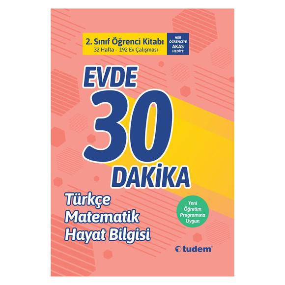 Tudem 2. Sınıf Evde 30 Dakika Öğrenci Kitabı