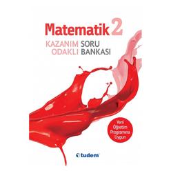 Tudem 2. Sınıf Matematik Kazanım Odaklı Soru Bankası - Thumbnail