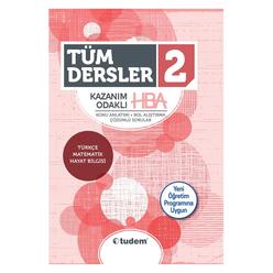 Tudem 2. Sınıf Tüm Dersler Kazanım Odaklı Hba - Thumbnail