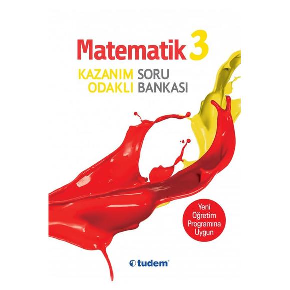 Tudem 3. Sınıf Matematik Kazanım Odaklı Soru Bankası