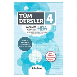 Tudem 4. Sınıf Tüm Dersler Kazanım Odaklı Hba - Thumbnail