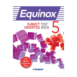 Tudem 5. Sınıf Equınox Subject Orıented Test Book - Thumbnail