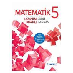 Tudem 5. Sınıf Matematik Kazanım Odaklı Soru Bankası - Thumbnail