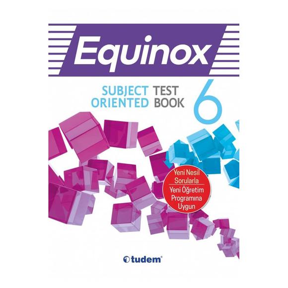 Tudem 6. Sınıf Equınox Subject Orıented Test Book
