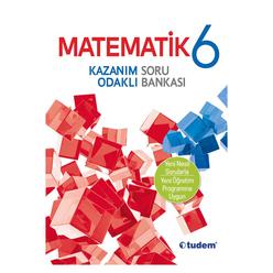 Tudem 6. Sınıf Matematik Kazanım Odaklı Soru Bankası - Thumbnail