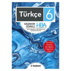 Tudem 6. Sınıf Türkçe Kazanım Odaklı Hba - Thumbnail