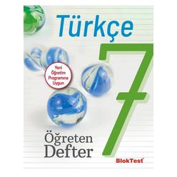 Tudem 7. Sınıf Bloktest Türkçe Öğreten Defter - Thumbnail