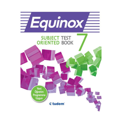 Tudem 7. Sınıf Equınox Subject Orıented Test Book - Thumbnail