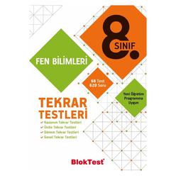 Tudem 8. Sınıf Bloktest Fen Bilimleri Tekrar Testleri - Thumbnail