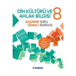 Tudem 8. Sınıf Din Kültürü ve Ahlak Bilgisi Kazanım Odaklı Soru Bankası - Thumbnail