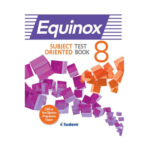 Tudem 8. Sınıf Equınox Subject Orıented Test Book