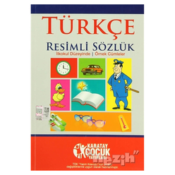 Türkçe Resimli Sözlük (İlkokul Düzeyinde - Örnek Cümleler) - Thumbnail
