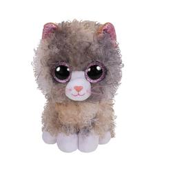 TY Beanie Boo's Tbd Gri Kıvırcık Tüylü Kedi Peluş 36277 - Thumbnail