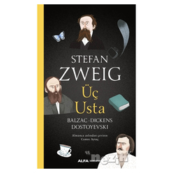 Üç Usta - Balzac, Dickens, Dostoyevski - Thumbnail