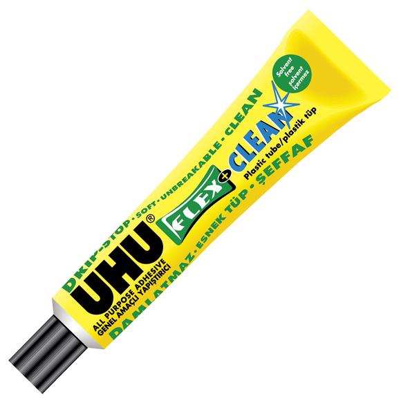 Uhu Flex&Clean Solventsiz Genel Amaçlı Yapıştırıcı 20 ml 48306
