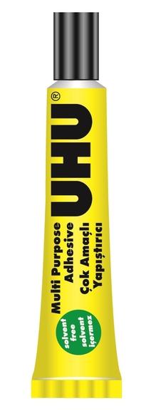 Uhu Solventsiz Çok Amaçlı Yapıştırıcı 7 ml No:3 38040-K