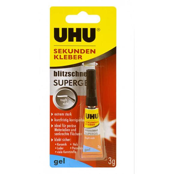 Uhu Süper Glue Gel-Jel Tip Japon Yapıştırıcı 40360