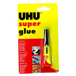 Uhu Super Glue Sıvı Japon Yapıştırıcı 3 gr 42400 - Thumbnail