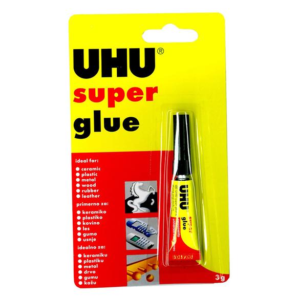 Uhu Super Glue Sıvı Japon Yapıştırıcı 3 gr 42400