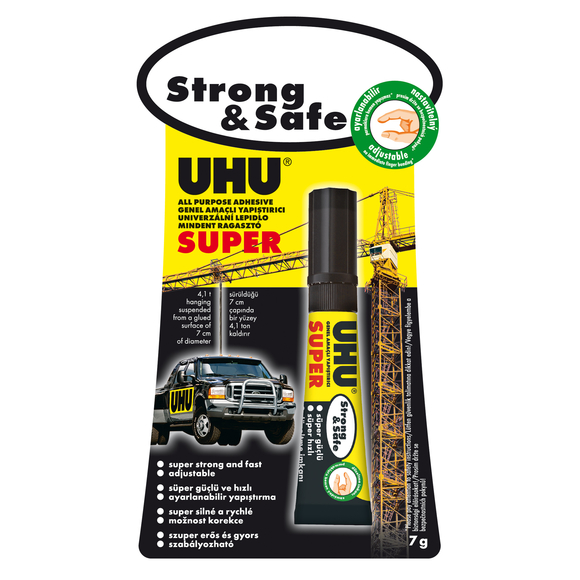 Uhu Super Strong & Safe 7 ml 39370