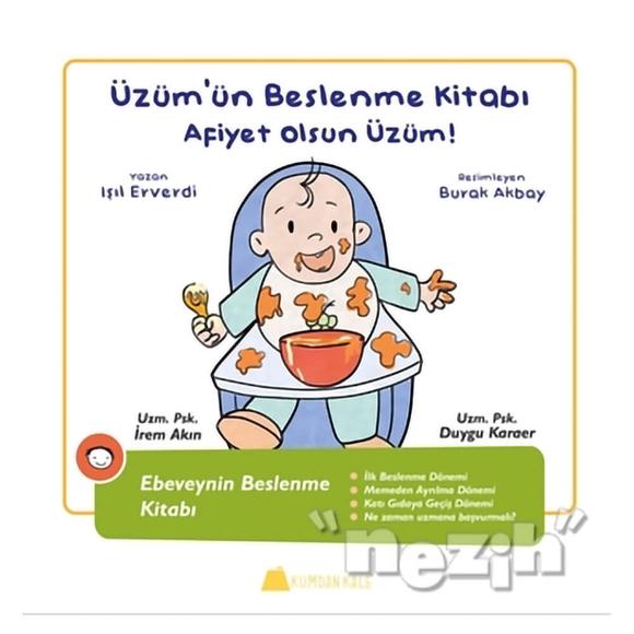 Üzüm'ün Beslenme Kitabı - Afiyet Olsun Üzüm