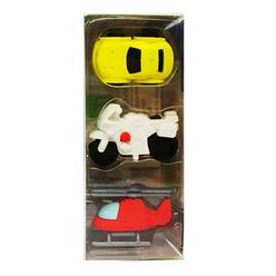 Vintage Label Araba Şekilli Silgi Puzzle 2889 - Thumbnail