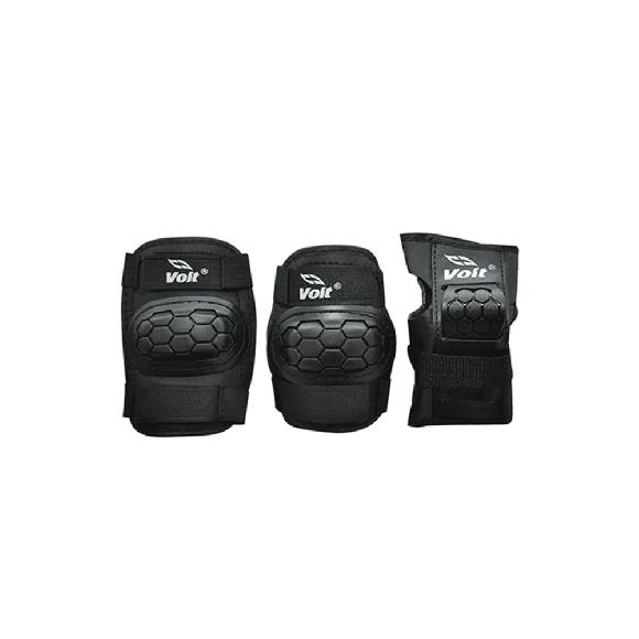 Voit PR122 Koruyucu Set Siyah Medium