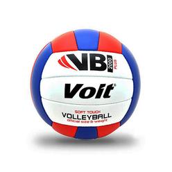 Voit VB2000 Plus Voleybol Topu Beyaz-Mavi-Kırmızı No:5 - Thumbnail