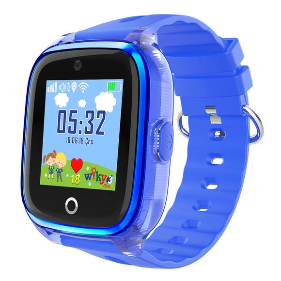 Wiky Watch 3 Plus Dokunmatik Akıllı Çocuk Saati Mavi