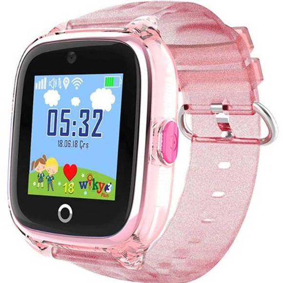 Wiky Watch 3 Plus DOkunmatik Akıllı Çocuk Saati Pembe