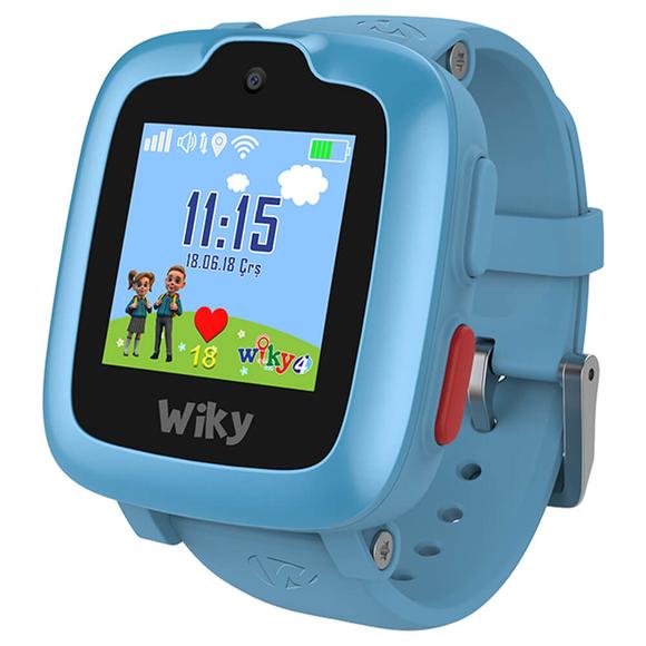 Wiky Watch 4 Dokunmatik Akıllı Çocuk Saati Mavi