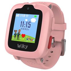 Wiky Watch 4 Dokunmatik Akıllı Çocuk Saati Pembe - Thumbnail