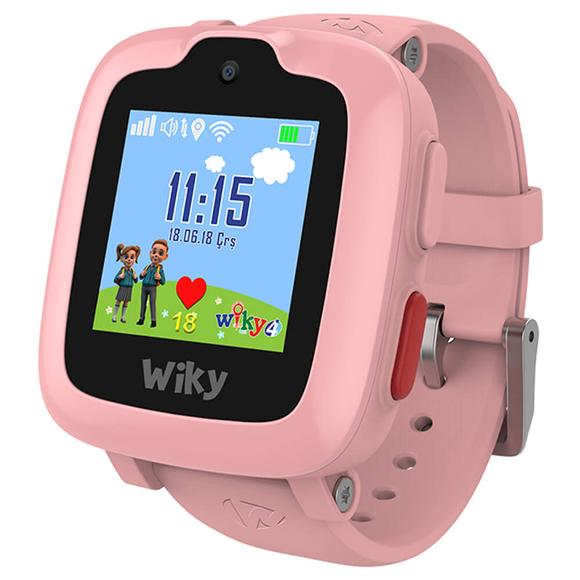 Wiky Watch 4 Dokunmatik Akıllı Çocuk Saati Pembe