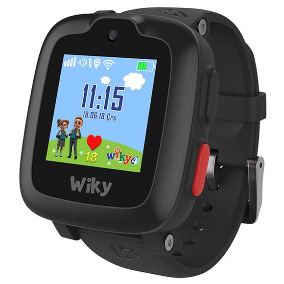 Wiky Watch 4 Dokunmatik Akıllı Çocuk Saati Siyah