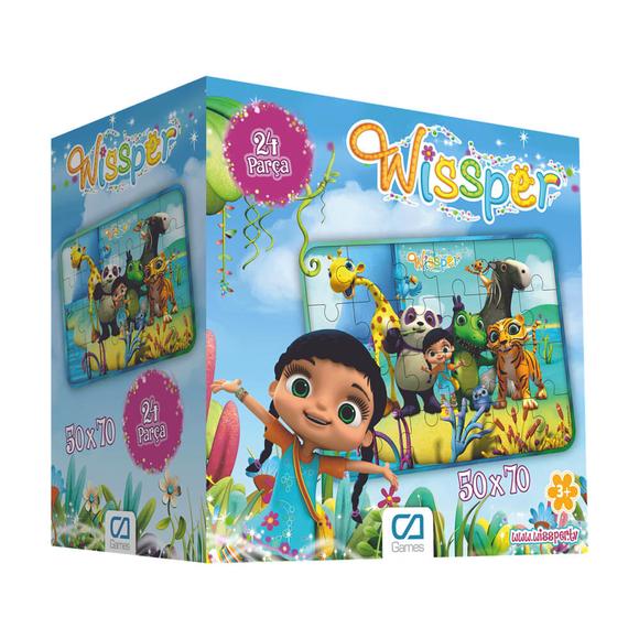 Wissper Yer 24 Parça Puzzle 5066
