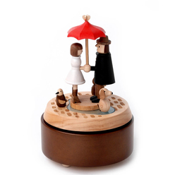Wooderful Life Müzik Kutusu Aşk Şemsiyesi 1033934 - Thumbnail