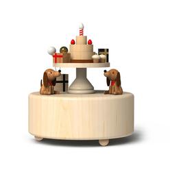 Wooderful Life Müzik Kutusu Doğumgünü Pastası 3304 - Thumbnail