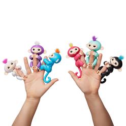 WowWee Fingerlings İnteraktif Bebek Maymun Siyah - Thumbnail