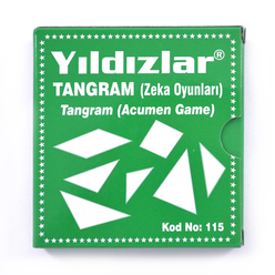 Yıldızlar Tangram Zeka Oyunu 115 - Thumbnail